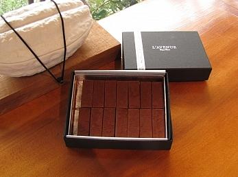 lingot chocolat